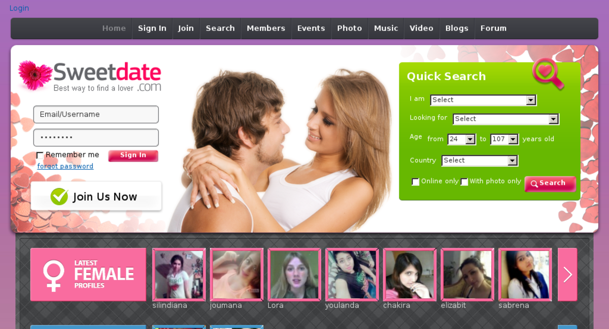 Beauty online dating site