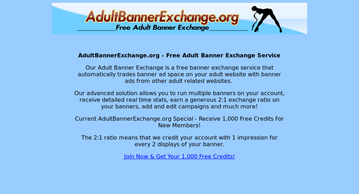 Free adult banner exchange pics 598