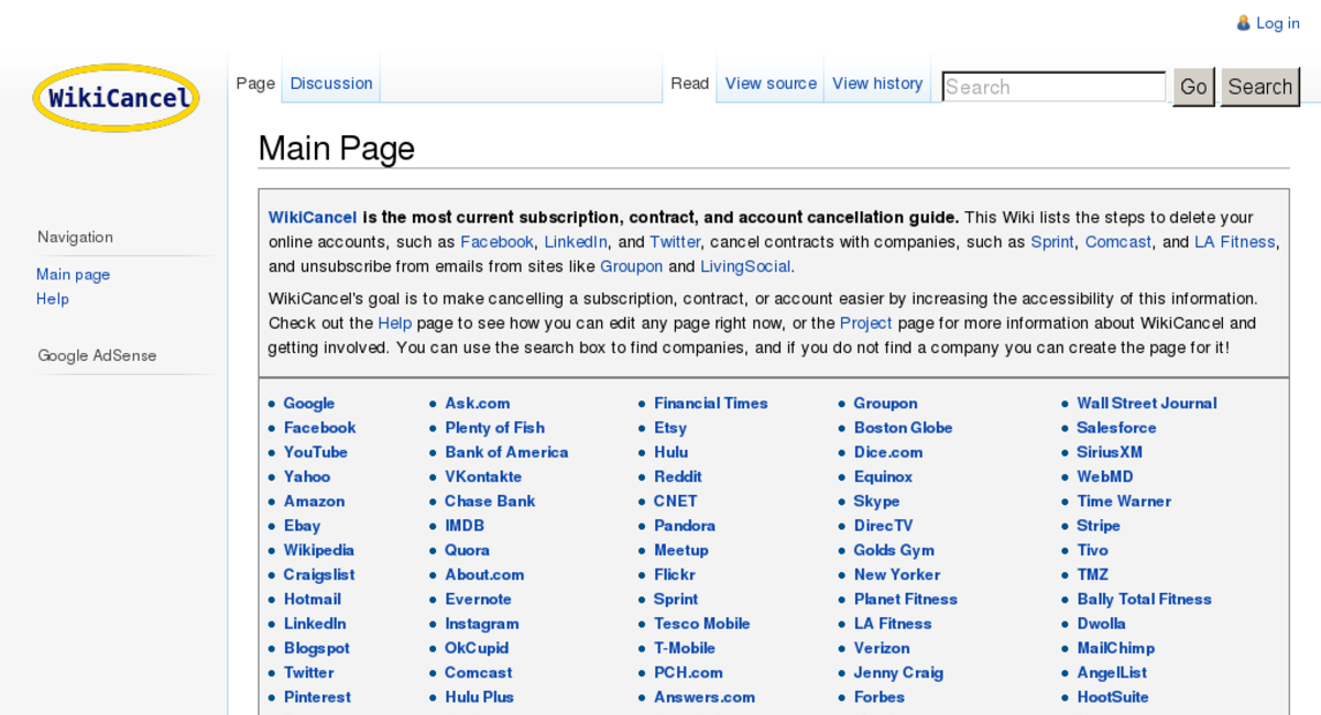 WikiCancel org — Website Sold on Flippa: WikiCancel org PR 5