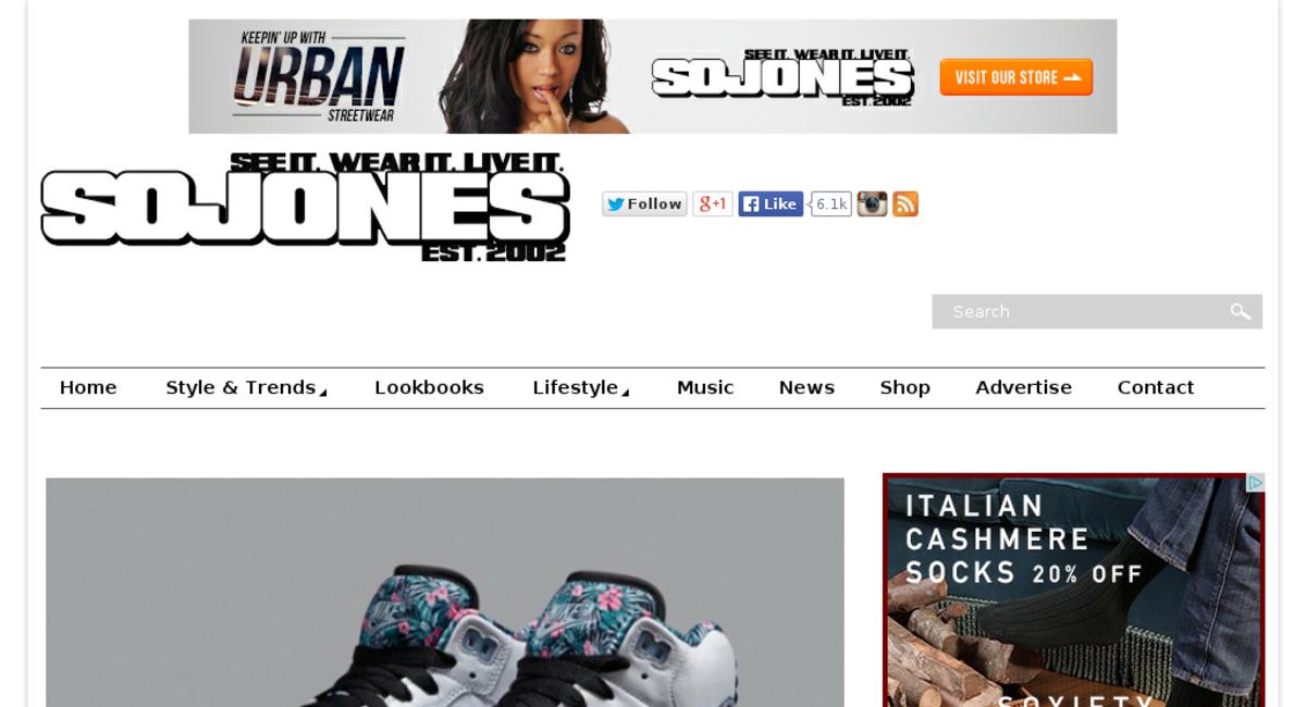 sojones.com - website listed on Flippa
