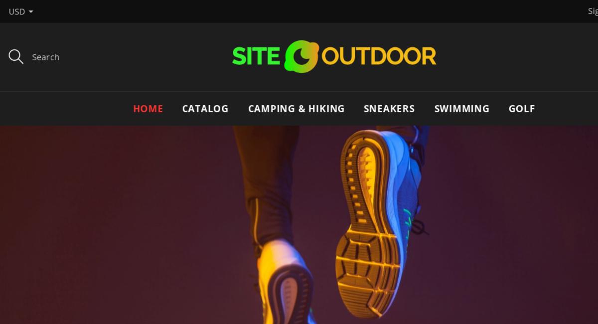 Siteoutdoor Com Starter Site Listed On Flippa Outdoor Supplies Dropship Store Domain Value 1 365 Usa International Market
