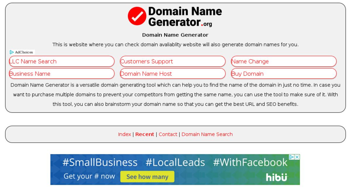 domainnamegenerator org — Website Sold on Flippa: Domain