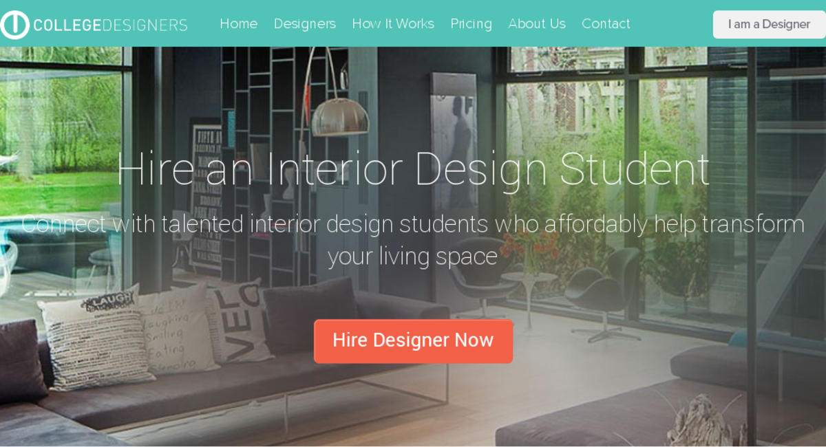 Collegedesigners Com Website Listed On Flippa Marketplace For Interior Design Students To Connect With Home Owners,Emerald Green Dark Green Interior Design