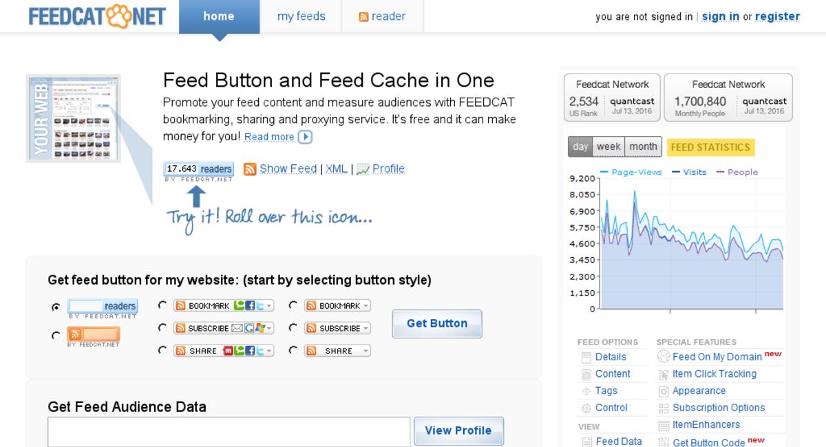 FeedCat.NET RSS 和 Atom Feed助推系统