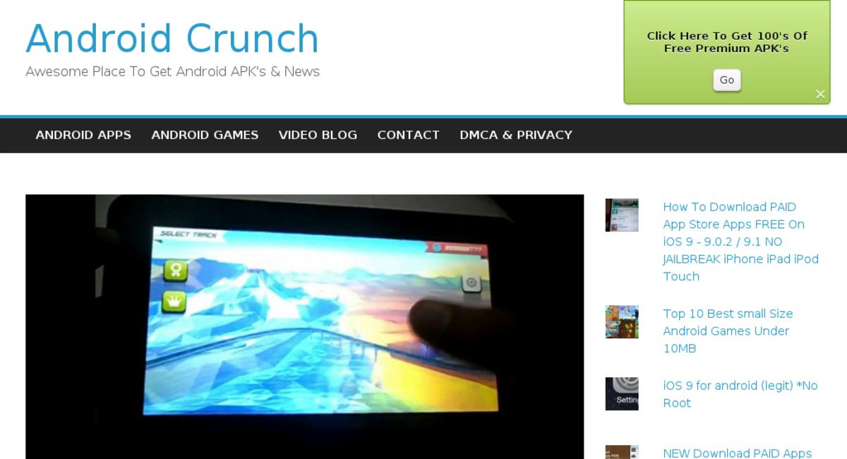 androidcrunch com — Website Sold on Flippa: