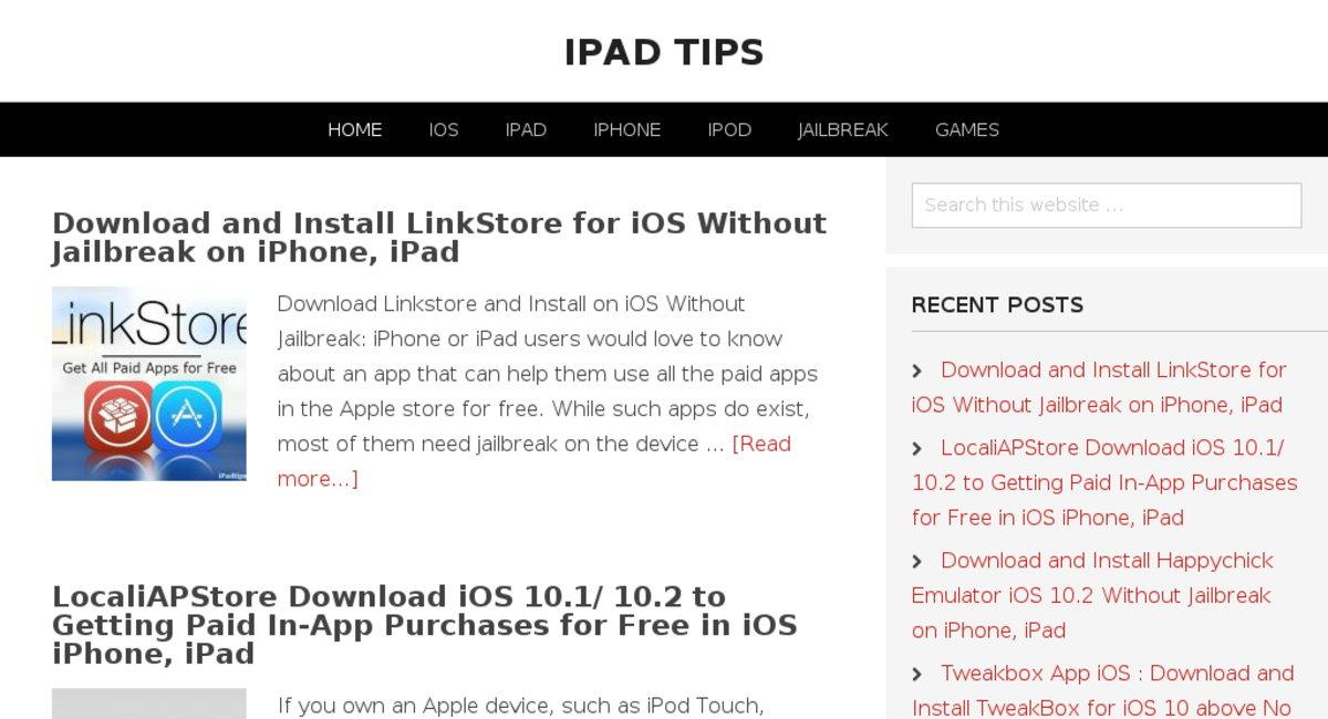 ipadtips com — Website Sold on Flippa: Established iPhone