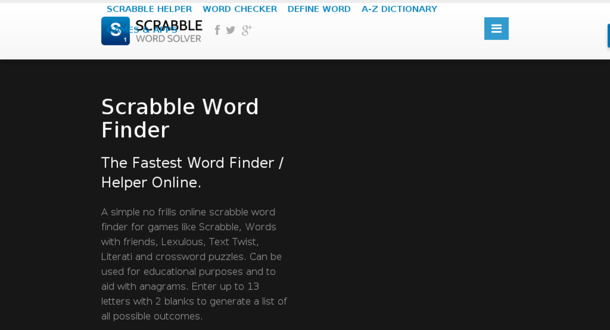 ScrabbleWordSolver.com — Website Sold on Flippa: 4 y/o AdSense Based ...