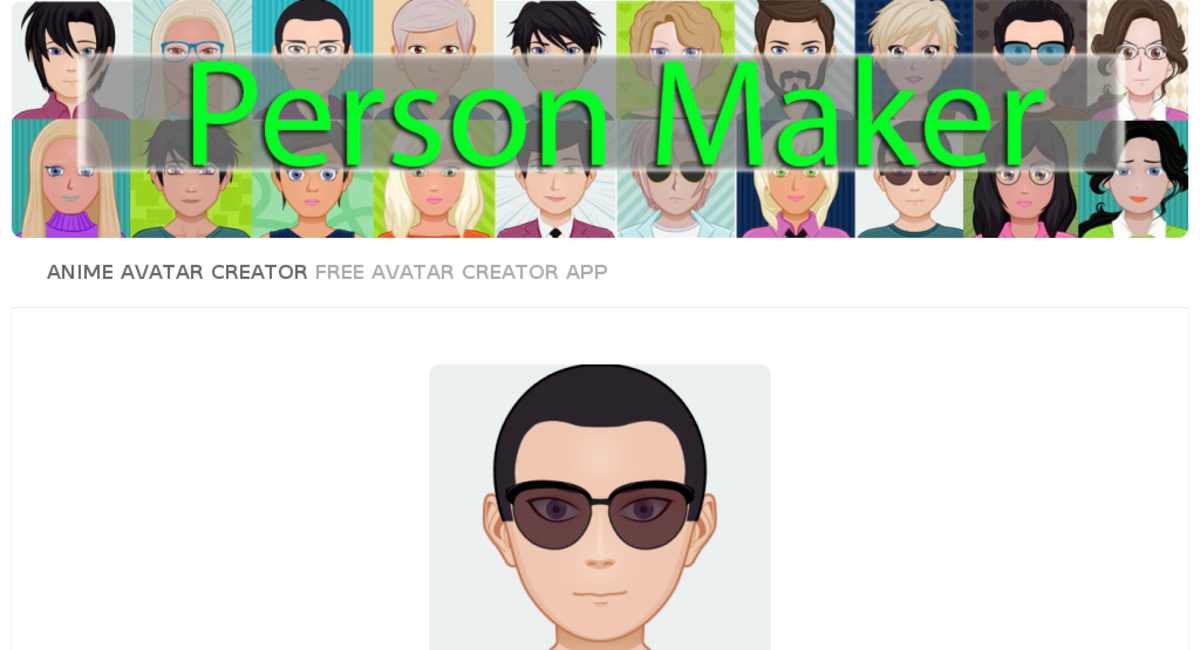 Personmaker Com Website Listed On Flippa Person Maker Online Best Free Avatar Generator Only Domain Value Is 420