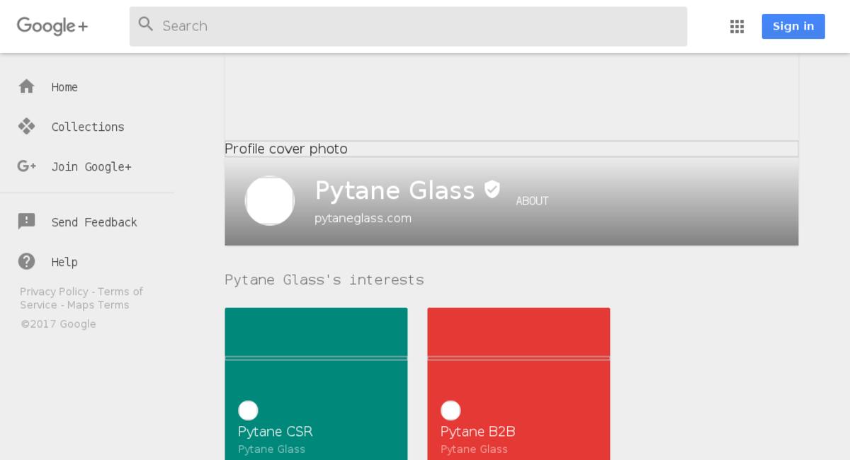 PytaneGlass.com - website listed on Flippa
