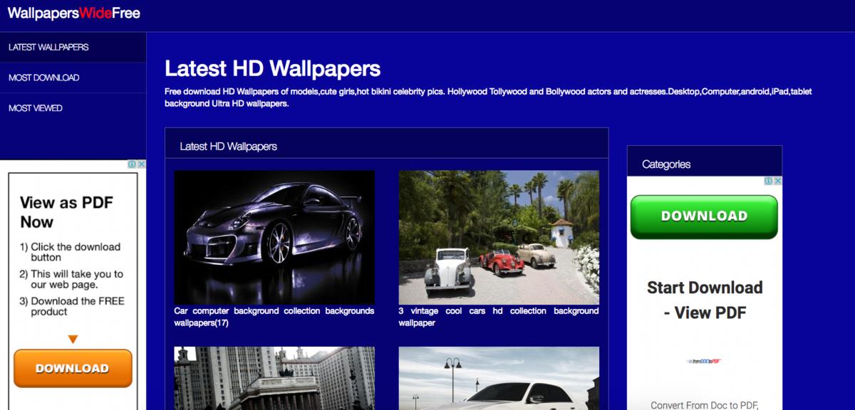 Wallpaperswidefree Com Website Sold On Flippa Wallpaper Background Nature Landscape Iphone Tablet Desktop Laptop