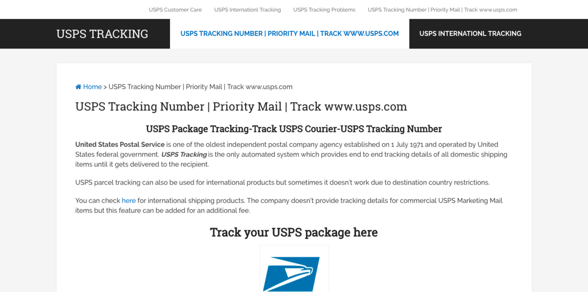 uspstrackingnumbers com website sold on flippa usps tracking