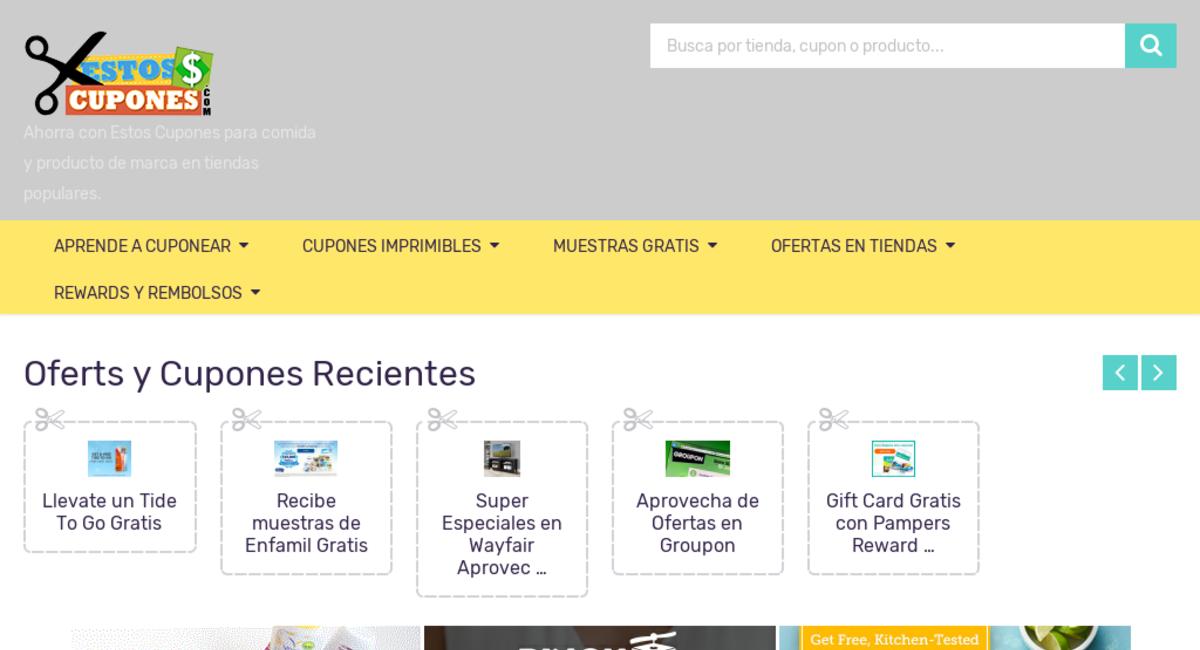 Estoscupones Com Website Sold On Flippa Coupon Website With 28k