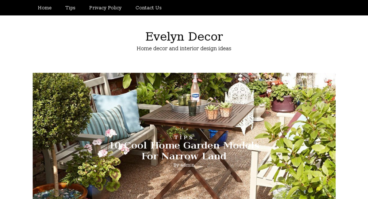 Evelyndecor Com Website Listed On Flippa Beautiful Home Decor Blog Ready To Make Money Worth 973