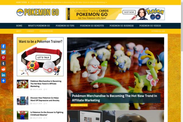 poakemon.com -  pokemon go information website
