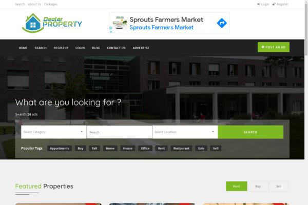 propertydealer.eu - Real estate market place