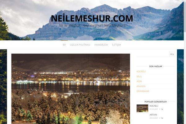 neilemeshur.com - Turkish Travel Blog
