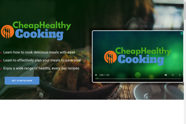 CheapHealthyCooking.com - Cooking and Recipe Book Bundle Store, Digital Product, Wordpress/WooCommerce