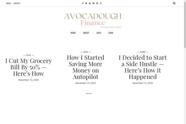 avocadough.co - HIGH VALUE Finance Blog $3,000 p/m income potential