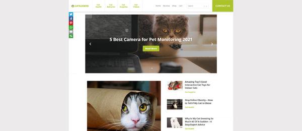 CatsLegend.com - Premium Pet Store/Affiliate Site. 14/yr Old Domain Valued @$1213. BIN Bonuses!