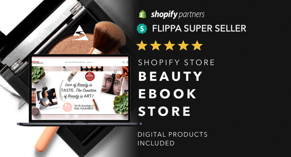 EbooksAboutBeauty.com - Password: 1234 | Beauty and Cosmetics Ebook Shopify Store For Sale