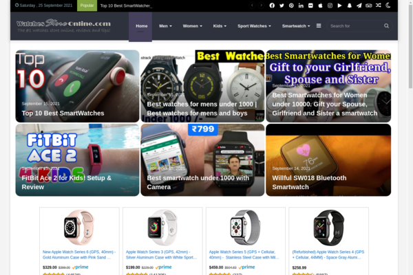 WatchesStoreOnline.com - Watches Store Online, Automated, No Experience Needed, LOW BIN