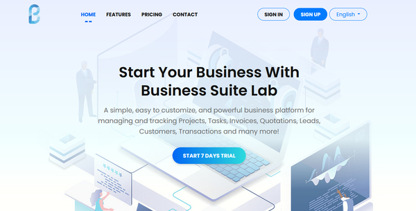 businesssuitelab.xyz - Start your own SaaS Business with Multi Company Business Platform