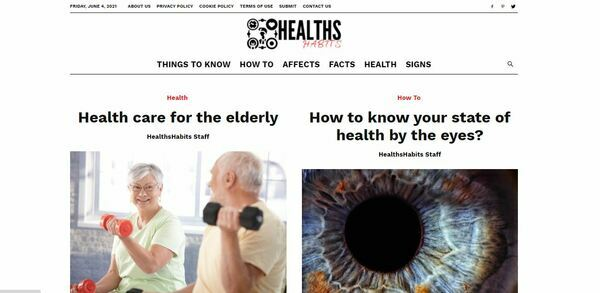 HealthsHabits.com - HealthsHabits: Health, Habit, Affects, Facts, How to, Signs, Things to know