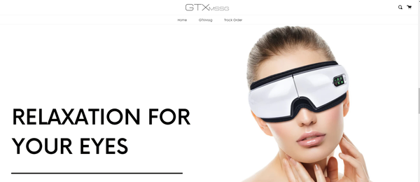 gtxmassage.com - Electronic Eye Massager  | Shopify Branded One Product Store