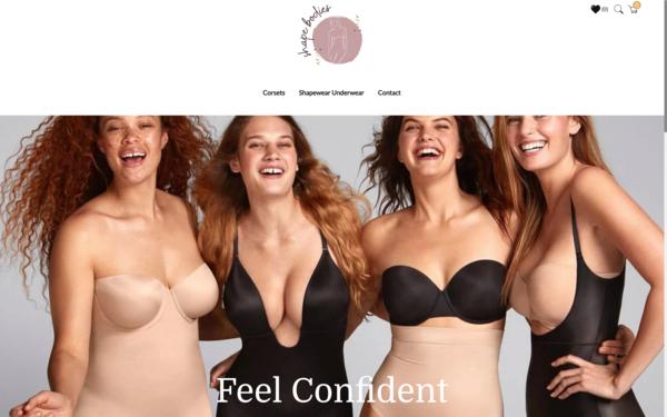 ShapeBodies.com - LingerieElegance.com| NO RESERVE | Premium Shapewear Store|$1,573 Domain Value