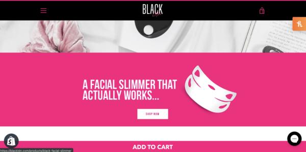 blackldn.com - e-Commerce / Health and Beauty