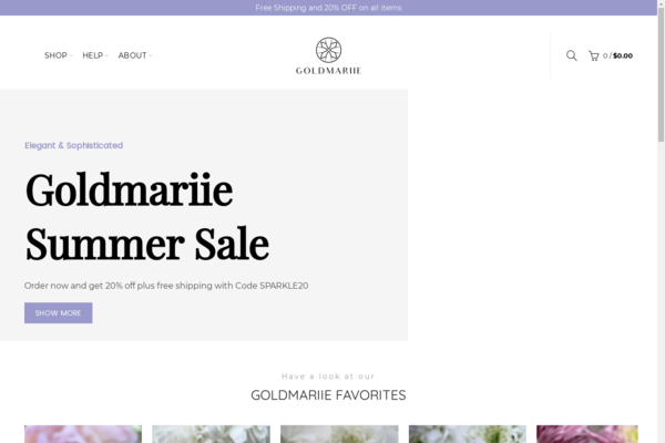 goldmariie.com - High-quality, affordable Authentic Gemstone and Vermeil Jewelry