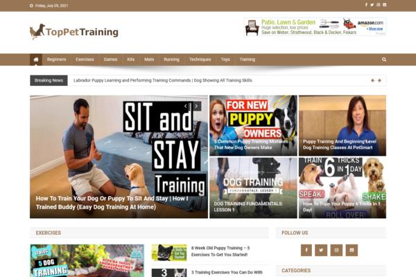 TopPetTraining.com - 100% Automated Pet Training Site - Huge Profitable - No Exp Req - Great Bonuses.