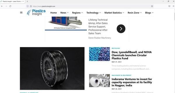 Plastics Insight - Plastics Insight is a leading information, insight & marketing portal for the Plastics Industry globally.
