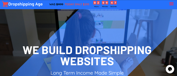 DropshippingAge.com - You Can Own Your Own Dropshipping Agency Business
