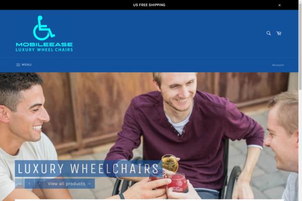 mobileease.shop - Mobilease -Luxury wheelchairs