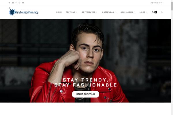 mensfashionplus.shop - MensFashionPlus.shop Automated WooCommerce Dropshipping Store. Mens Clothing