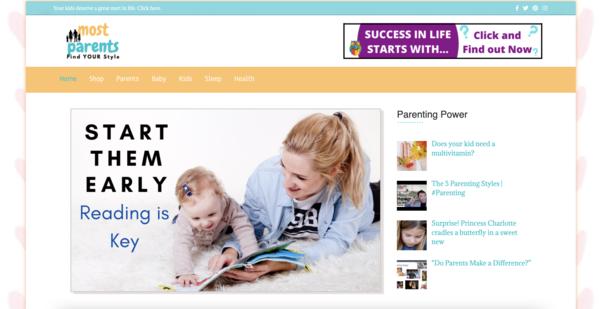 MostParents.com - GROWING Parenting Niche - 100% Fully Auto - Newbie Friendly - Fast Site.hhhhhhhh