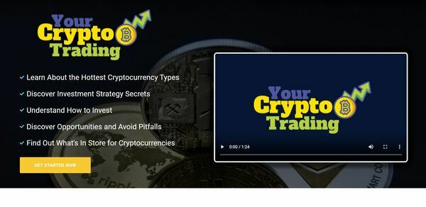 YourCryptoTrading.com - Crypto eBook Guides and Videos eCom Store, Digital Product for Hands-Off Order Fulfilment, Custom Promo Video & Sales Graphics, WordPress & WooCom