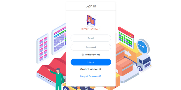 inventoryzip.xyz - Build your own SaaS Biz with Multi Company Accounts Billing & Inventory System