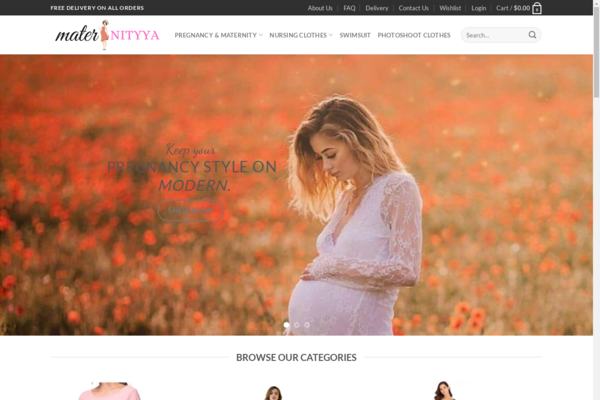 maternityya.com - maternity fashion clothing store - $494 startup Revenue, [$4k/mo Potential