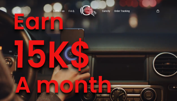 caricity.com - Your new life starts here. Earn 15K a Month.