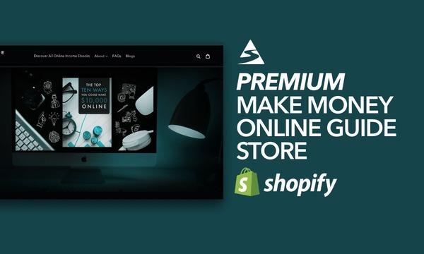 OnlineIncomeEbooks.com - Password:1234 | Making Money Online Ebook Shopify Store Startup Streams