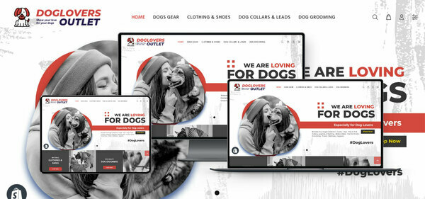 DogLoversOutlet.com - PREMIUM SHOPIFY DOG SUPPLIES DROPSHIP. Fully Automated. Profitable