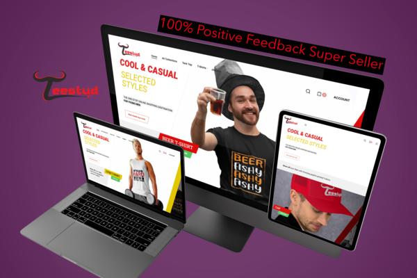 TeeStud.com - 100.0% positive Feedback Super Seller, with US/EU Supplier Worldwide Shipping