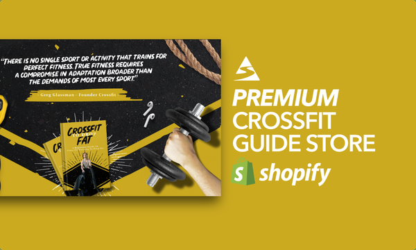 TheCrossFitBook.com - Password: 1234 | CrossFit Ebook Shopify Store For Sale Startup Streams