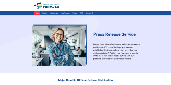 PressReleaseHeroes.co - PROFITABLE PRESS RELEASE BIZ - Made $2830 in 3 Months. Recession Proof Business