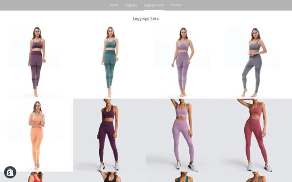 LegginsGlobal.com - Worldwide Gym Apparel/Leggings Store. $1,278 Domain Value