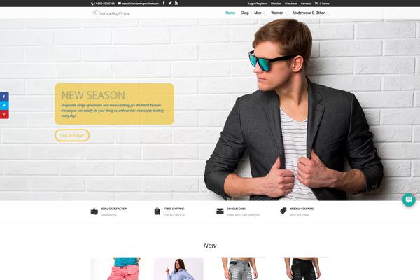 FashionBuyOnline.com - Fashion Dropship Store | 8yrs Domain | EU Supplier | FREE HOSTING