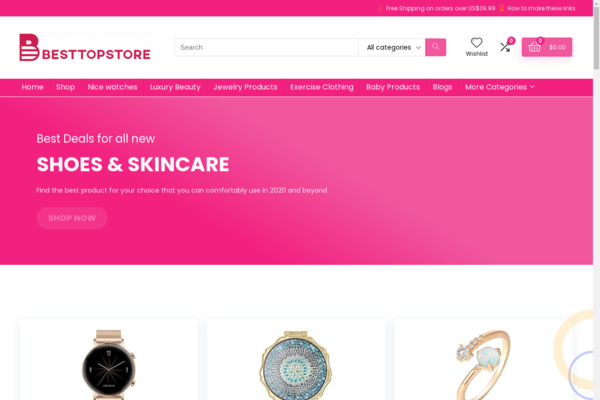 besttopstore.com - Besttopstore.com has 17000 Amazon products to sale for you to Make  Money