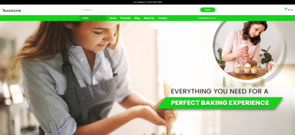 bakers-love.com - e-Commerce / Home and Garden